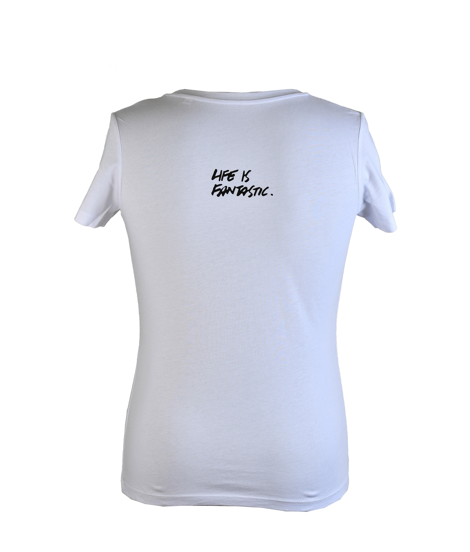 Camiseta con la firma de Ramon