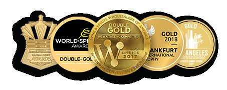 Five various spirits awards image