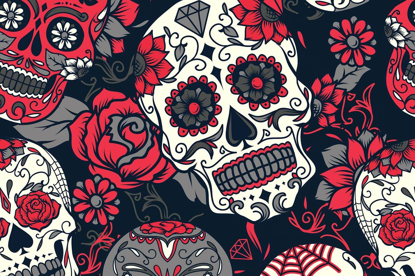 The skull – La Calavera – is at the center of the festivities on this day.