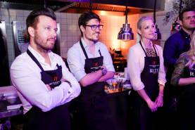"""""""RIZE to the top"""" - kitchen party with Sarah Brandner, Alexander Mazza and Co. nPadre Azul High-End Tequila."""
