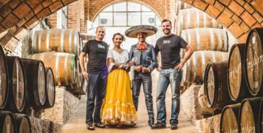 """The """"Día de Muertos"""" or """"Día de los Muertos"""" is a colorful celebration of life and death- Padre Azul High-End Tequila."""