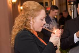 Cigar night Graz- Padre Azul High-End Tequila.