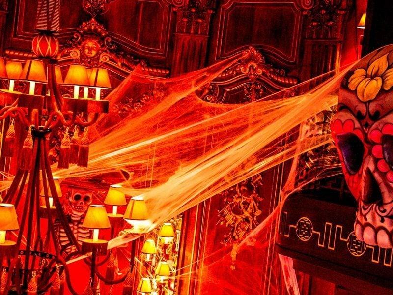 Buddha Bar Monaco hosted a special celebration this year: El Día de los Muertos, the Mexican Day of the Dead.
