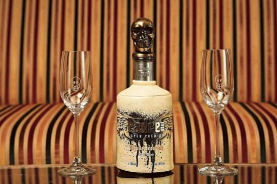 Two Tequila sipping Glasses. World-leading Glass Producer Riedel created this Padre Azul Special Edition.